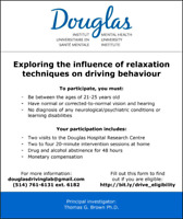 Paid research participation: Seeking drivers aged 21 to 25
