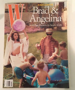 Brad Pitt and Angelina Jolie W Magazine July 2005