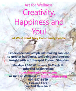 Art for Wellness: Creativity, Happiness, and You!