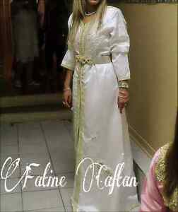 Liquidation Caftan Haute Couture modèle unique robe Marocaine