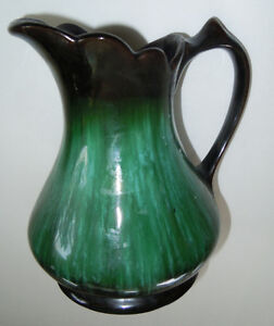 Blue Mountain Pottery Large Pitcher and Bowl