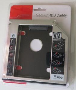 Second 2nd SATA HDD hard drive Caddy for LENOVO Thinkpad W520 12