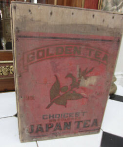 Antique Tea Crate