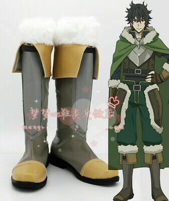 The Rising Of The Shield Hero Naofumi Iwatani Shoes Cosplay Comic Con Boots   - Cosplay Booties
