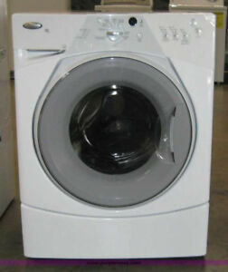 Broken front load whirlpool washing machine for parts/ be fixed