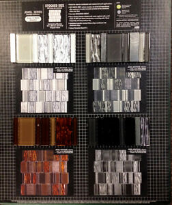 Boutique Jewel Glass and Metal Mosaics / Backsplash With Images