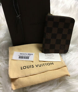 Louis Vuitton - Authentic Zippy Coin Purse Damier Ebene