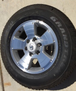 New takeoff Toyota Tacoma OEM wheels and tires