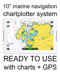 8 inch marine chartplotter GPS navigation system NAVIONICS chart