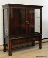 Short Curio Display Cabinet by Bombay Furniture