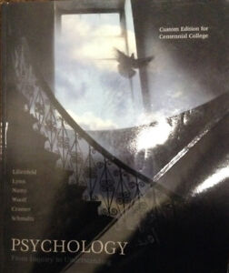 Psychology From Inquiry to Understanding (Custom Edition)
