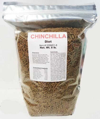 Chinchilla Diet 8 pound