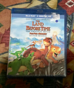 The Land Before Time Bluray Neuf