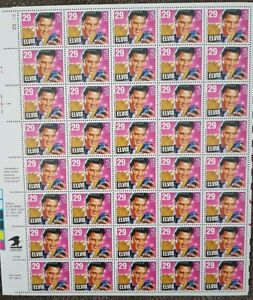 TIMBRES ELVIS PRESLEY STAMPS - USA 1993 - FEUILLE / SHEET
