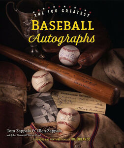The 100 Greatest Baseball Autographs - Hardcover book Kitchener / Waterloo Kitchener Area image 1