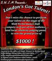 AUDITIONS for London's Got Talent: Local Fundraiser