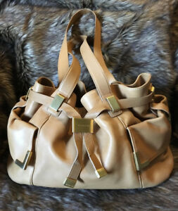 Authentic Michael Kors Genuine Leather Handbag - Made In Italy