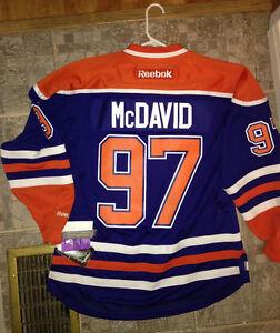 Reebok Authentic Mcdavid game jersey
