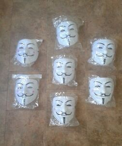 Masque de ANONYMOUS / V Vendetta