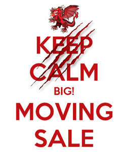 GIANT MOVING SALE ONE DAY ONLY RAIN OR SHINE