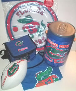 Florida Gators 5 Item Sports Collectables Package