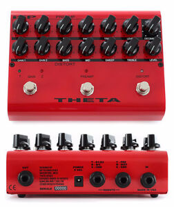 ISP Technologies Theta Preamp 3 Channel Overdrive and Distortion