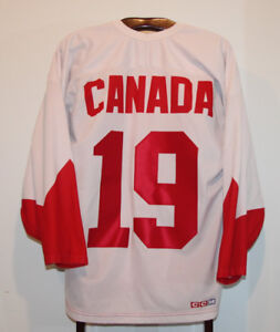 CCM PAUL HENDERSON 1972 CANADA SUMMIT SERIES HOCKEY JERSEY LARGE
