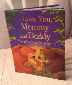 I Love You, Mommy and Daddy Book - Hardcover - NEW