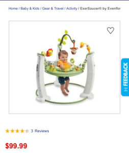 Jumpers exersaucer