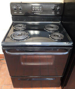 "Frigidaire 30"" Black Electric Stove"