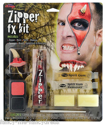 ialeffekte Halloween Zombie Make-Up Kostüm Set (Halloween Mumie Kostüm Make-up)