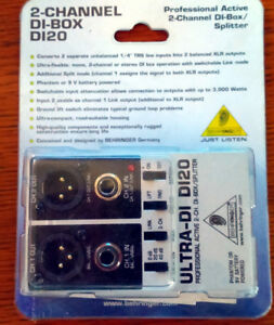 2 Channel Di-box D120  New in Package