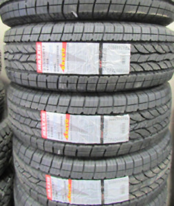 4 Tires sized P235/65R17 at 100% Tread left on them Selling for