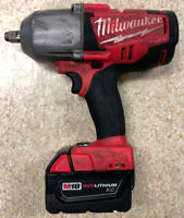 Milwaukee 1/2'' Impact Wrench (Friction Ring) w/ warranty $199 Mississauga / Peel Region Toronto (GTA) Preview