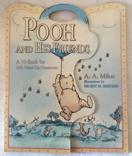 POOH AND HIS FRIENDS - A 10-Book Set with Stand-Up Characters - A A MILNE