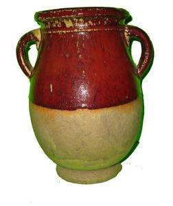 Vase Potterie / Double Handle Pottery Vase