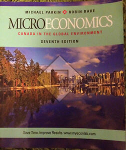 Microeconomics by Parkin & Bade, ECON 101 @ UW