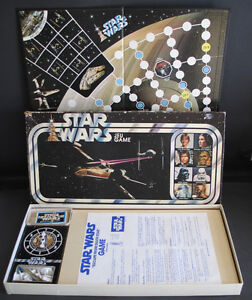 STAR WARS ESCAPE FROM DEATH STAR BOARD GAME 1977 PARKER BROS.