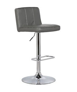 New Bar Stool Chair Seat Adjustable Home Office Various Color