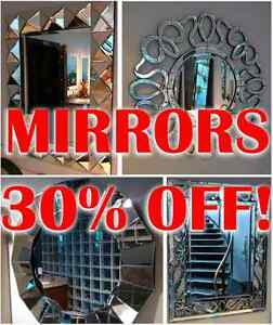 Beautiful Hand Cut high end mirrors on sale Cambridge Kitchener Area image 1