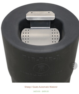 Non electric frost free automatic horse drinker waterer BNIB