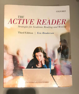 The Active Reader- Third Edition by Eric Henderson