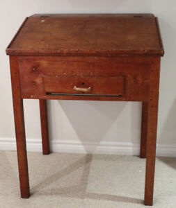 Early Canadian Standing Mill Desk.