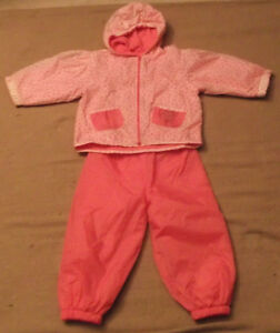 Girls 2 piece Spring/Fall Jacket & Pants Size 2/3
