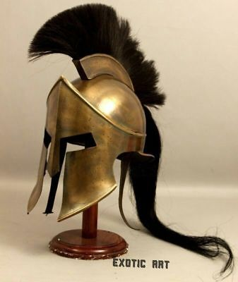 Medieval King Leonidas Greek 300 Spartan Armour Helmet,Halloween Costume Movie  - 300 Spartan Costumes