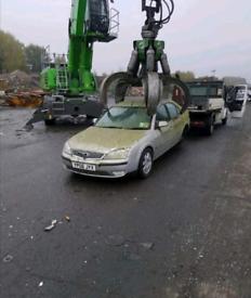 Scrap cars vans 4x4 all wanted 👍🏽