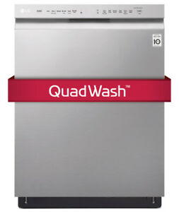LG LDF5545ST Front Control Dishwasher with QuadWash and EasyRac