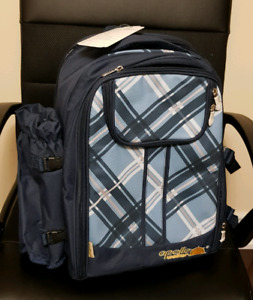 NEW with tags High Quality Blue Picnic Backpack