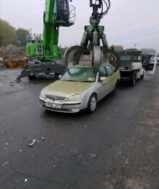 Scrap cars Van's 4x4 pickups wanted 434