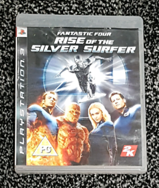 Fantastic Four Rise Of The Silver Surfer (PS3).